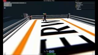 FHKBLOW vs PSP237 Roblox Wrestling ERW