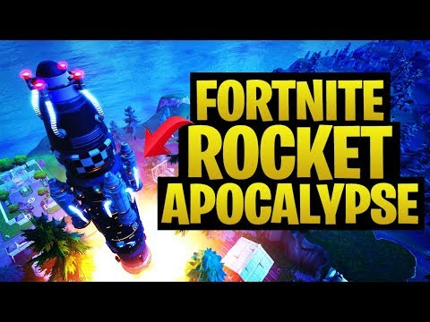 Fortnite Rocket Event Destroys What??? Live Replay! (Fornite Battle Royale)