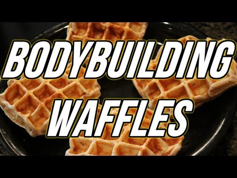 BODYBUILDING PROTEIN WAFFLES
