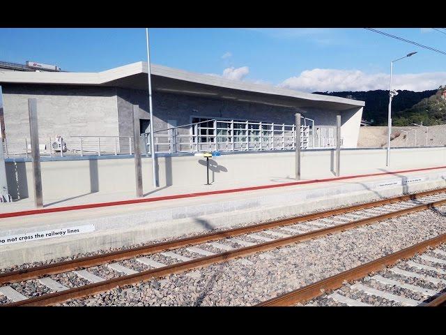 La nuova stazione FS di Andora pronta per la inaugurazione: video #1