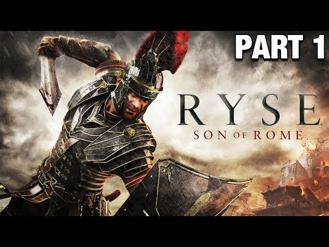 Ryse Son of Rome Gameplay German #01 - Der Anfang / Geiles Game - Lets Play Ryse Son of Rome