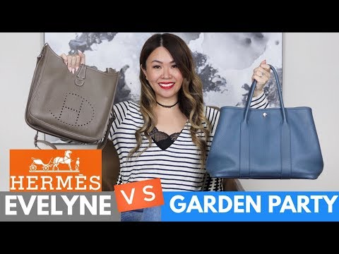 HERMES GARDEN PARTY Vs EVELYNE  - COMPARISON/REVIEW | Pros & Cons, Prices