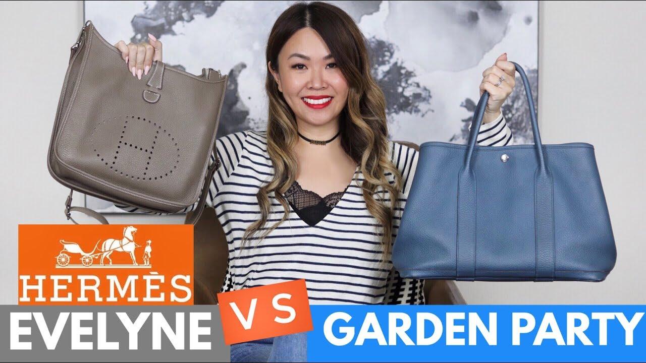 Hermes Garden Party Vs Evelyne Comparison Review Pros Cons