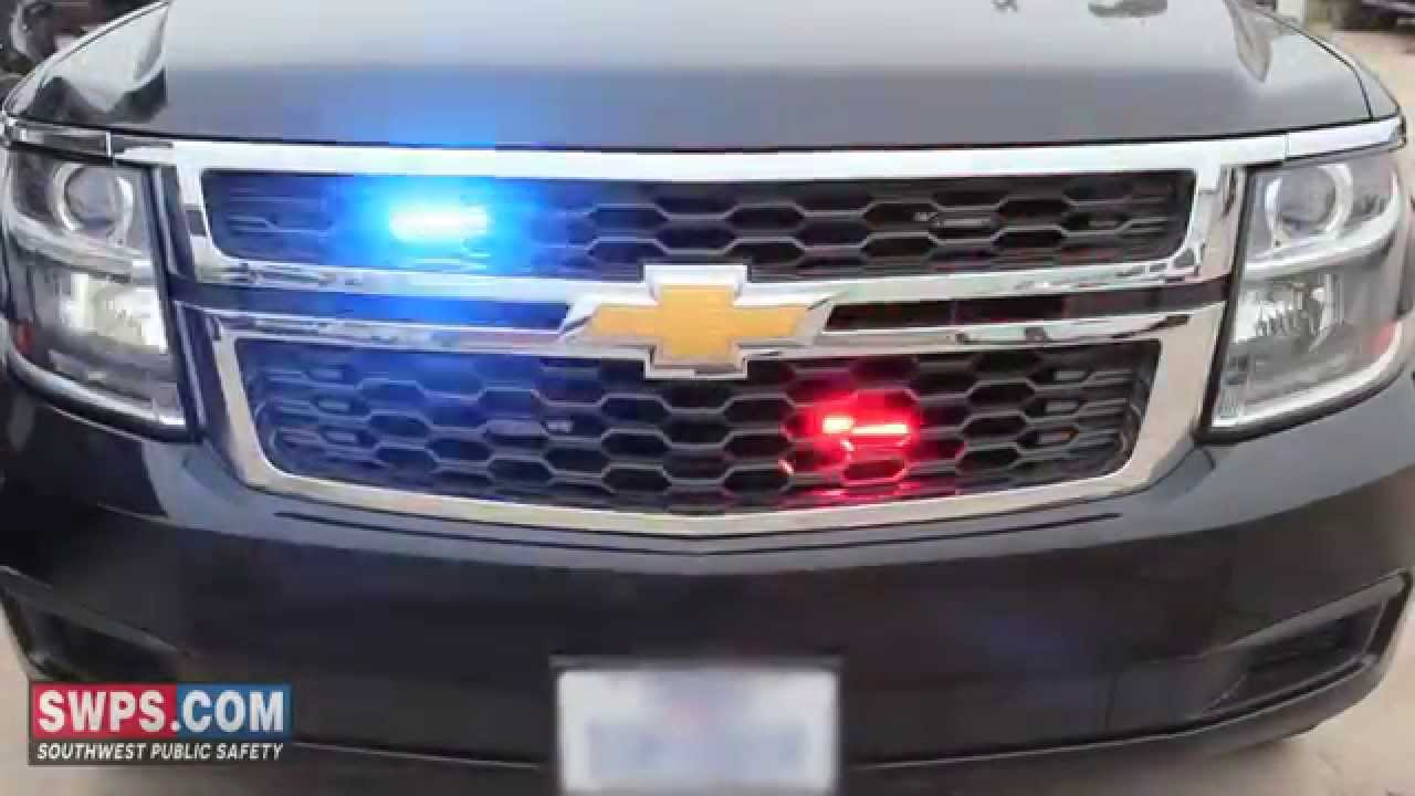2015 Chevy Tahoe PPV outfitted with Police Emergency ...