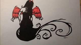 Mes dessins emo gothique [part 3/5]