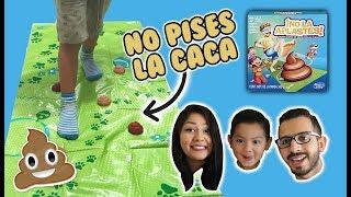 No Pises la Caca | Juego de Mesa Caca Chaf - No la Aplastes | Family Juega