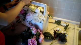 Свадьба своими руками. #3. Кашпо с цветами для декора. Процесс создания.
