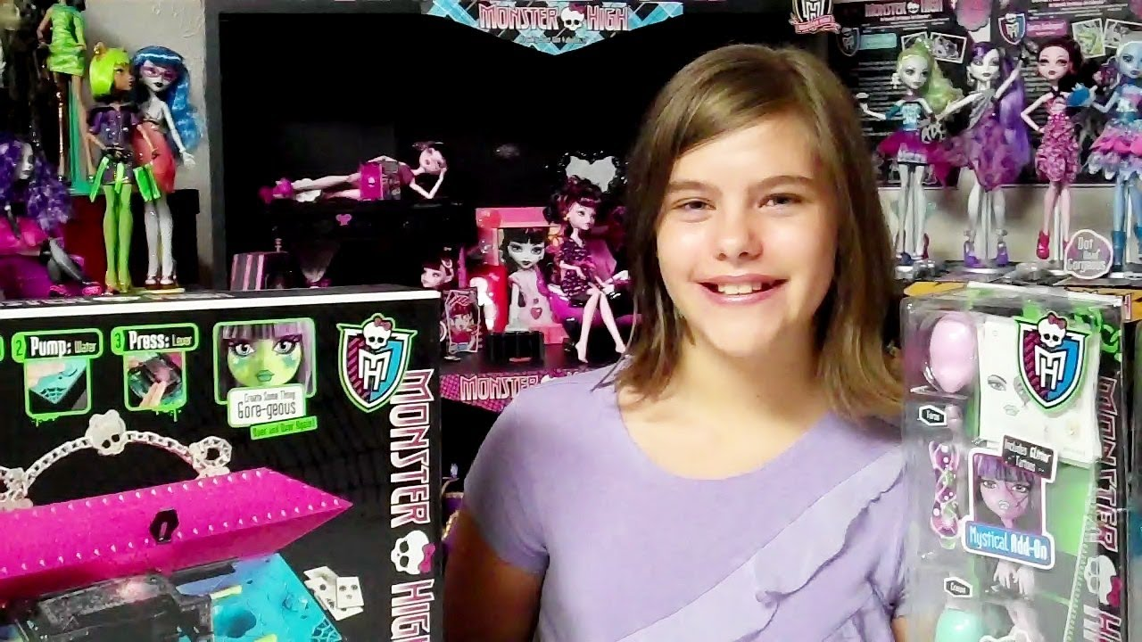 Monster High Create A Monster Design Lab And Add On Packs Review By