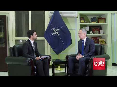 SPECIAL INTERVIEW With NATO Chief Jens Stoltenberg (Dari Version)