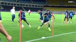 Equipe de France : exercices de vivacité à Tbilissi (Géorgie-France 2013)