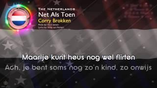 """[1957] Corry Brokken - """"Net Als Toen"""" (The Netherlands)"""