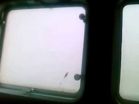 "Inside Typhoon Haiyan""Yolanda"" in a Cargo Vessel in the Philippines."
