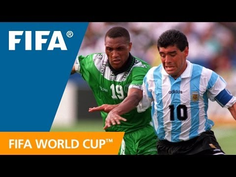 World Cup Highlights: Argentina - Nigeria, USA 1994