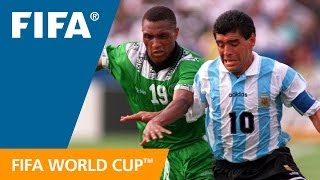 World Cup Highlights: Argentina - Nigeria, USA 1994 thumbnail