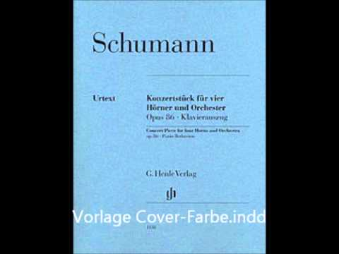 Concertpiece for Four Horns and Orchestra, Op.86 (Schumann, Robert)