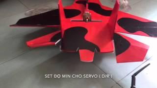 Cách sử dụng devo 7 phần 2 ( cách bind với rx và chỉnh độ mịn servo)