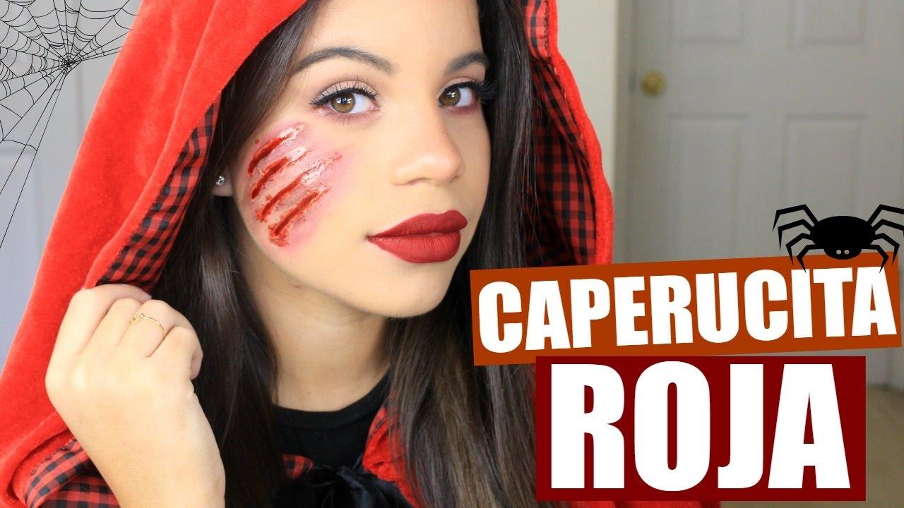 Disfraces Para Halloween De Caperucita Roja.Maquillaje Para Halloween Caperucita Roja Alejandra Avila