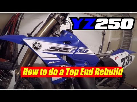 YZ250 top end rebuild (how to)
