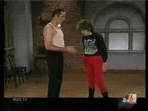 Lorraine takes dance lessons