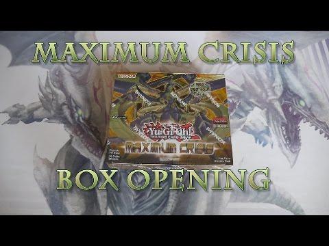 YUGIOH Maximum Crisis Box Opening