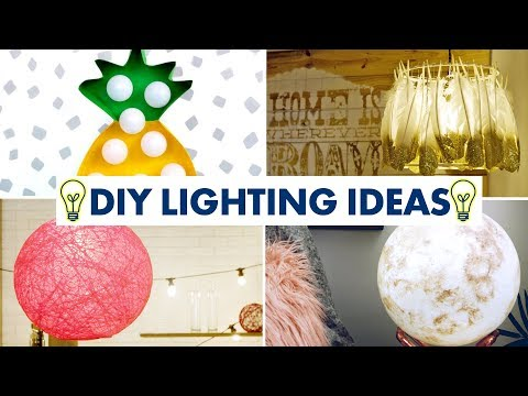10 DIY Lighting Projects: Lamps, Pendants and Lamp Shades - HGTV Handmade