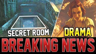 NEW SECRET ROOM FOUND! ZOMBIES COMMUNITY DRAMA EXPLAINED! (Black Ops 4 Zombies)