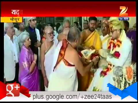Mysore Welcomes Its New King 28th May 2015