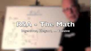 RSA -- The Math