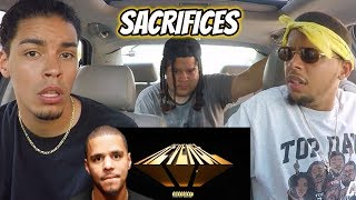 Gambar cover Dreamville - Sacrifices ft. EARTHGANG, J. Cole, Smino & Saba | REACTION REVIEW