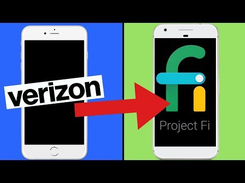 Switching to Project Fi by Google from Verizon Wireless