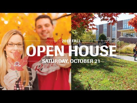 Rider University Fall Open House–October 21