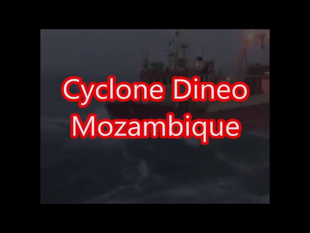 CYCLONE DINEO HITS MOZAMBIQUE Feb 17th 2017