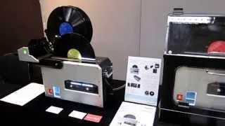 2015東京インターナショナルオーディオショウ 超音波振動式オートマチック・レコードクリーナー