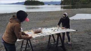Salmon Skin Tanning by Mary Babic