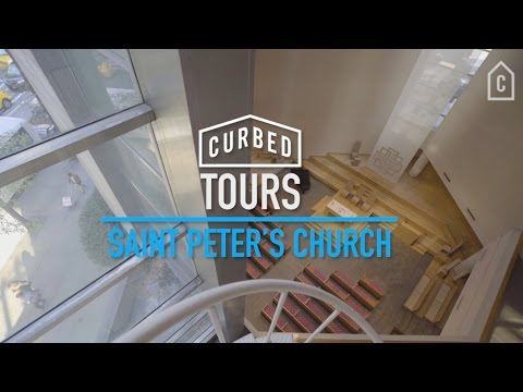 Inside Saint Peter's Church in New York City ⛪️   Curbed Tours