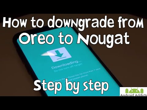 How to Downgrade Samsung Galaxy S8 From Oreo Beta to Nougat