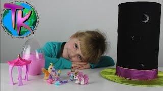 Лошадка Филли Бабочка Большое яйцо Фокус с шляпой Распаковка Filly Butterfly Big surprise egg