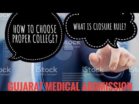 Gujarat medical admission process 2018