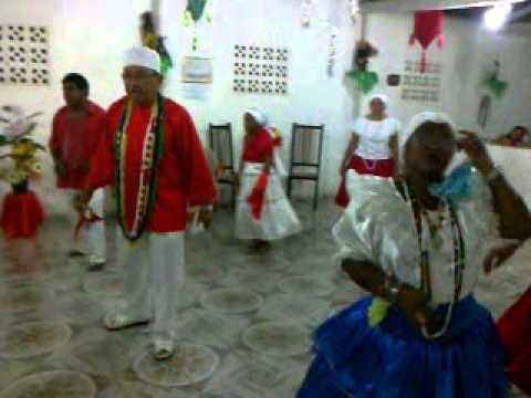 Festa de Ogun/São Jorge/Rompe-Mata no Terreiro de Mina Nagô de Xangô e José Tupinambá (23/04/2013)