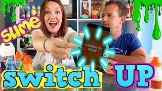 Mystery Wheel of SLIME SWITCH UP Challenge! RULETA de SLIME!  Cambia Tu Slime !