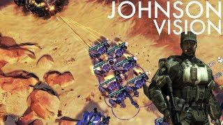 Halo Wars 2 - Using Johnsons Vision to Abuse Kodiak Range!