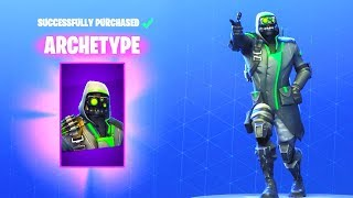 NEW! ARCHETYPE SKIN! (New Item Shop Update) Fortnite Battle Royale