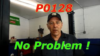How To Diagnose A  P0128 On A 2003 Honda Civic