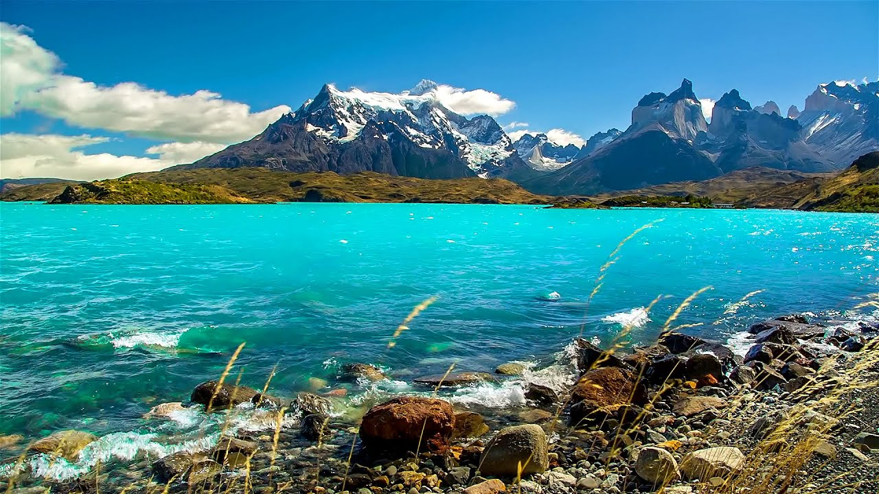 Patagonian Nature Sounds Relaxing Rivers Lakes And