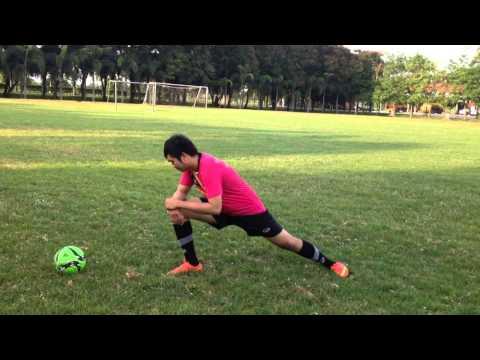 Garfild : วิธีการอบอุ่นร่างกายก่อนเล่นกีฬาฟุตบอล