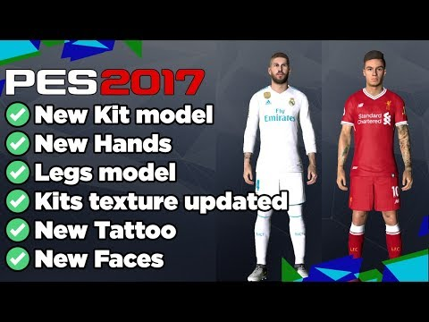 PES 2017 Mod Pack Full Body AIO Like PES 2018