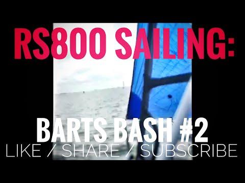 Barts Bash 2017 Facebook Live feed #2 RS800 Sailing 3 up