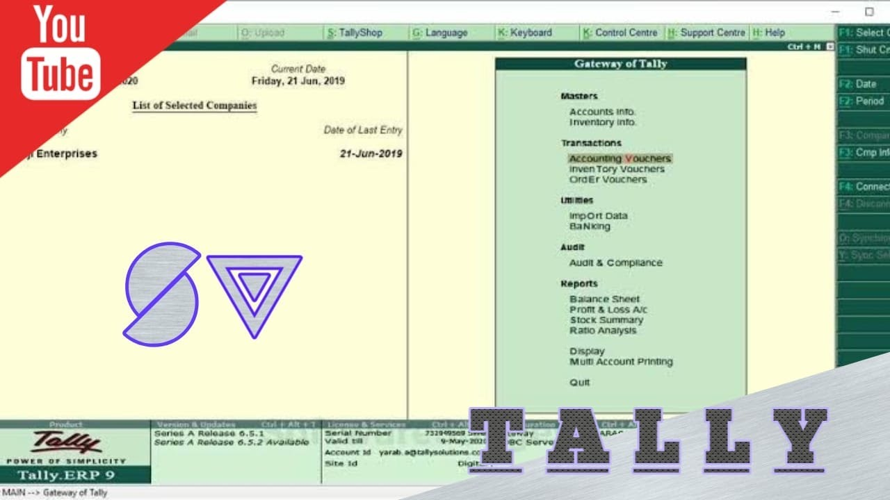 HOW TO PASS JOURNAL ENTRY OF SALES AND PURCHASE WITH TAX|| TALLY PART-4
