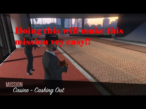 Gta Online: Casino Cashing Out Mission Guide