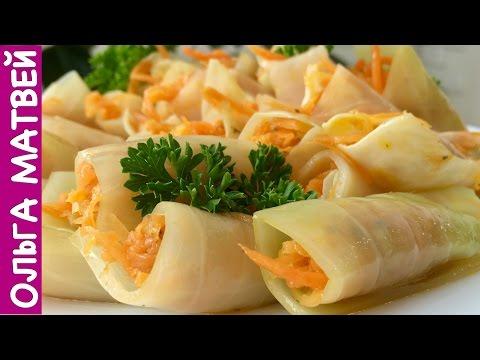 Голубцы с Морковкой по-Корейски в Квашеной Капусте, Вкуснятина!!! | Korean Style Stuffed Cabbage